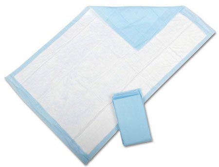 TRUE Clean Disposable Underpads 23x26 50/pack Count Blue - Large Multipurpose - For Elderly, Pets and Diaper Changes.