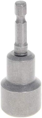 Utoolmart ソケットアダプター 六角シャンク ポータブル六角ソケット マグネット ソケットビット ショートソケット セット 強力磁気ナット インパクトドライバー 電動ドリル用 16mm 2pcs 总長65mm