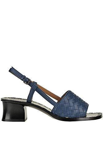 Bottega Veneta Luxury Fashion Womens MCGLCAT0000E7153E Blue Sandals | Season Outlet