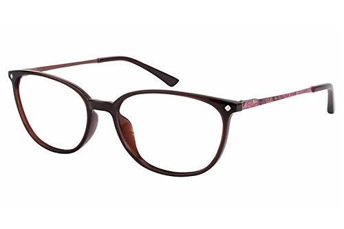 Aristar by Charmant Eyeglasses AR18431 AR/18431 535 Brown Optical Frame 51mm