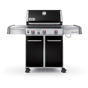 Weber 6531053 Genesis E-330 – Barbacoa de gas, 3 quemadores negro