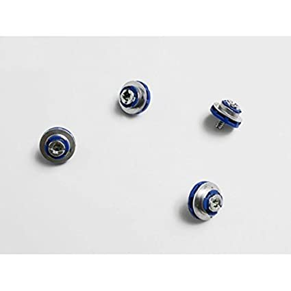 4 HP Blue Hard Drive Mounting Screws DC7800 DC7900 6000 6005 Pro 8000 8100 Elite
