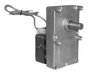 Pellet Stove Auger Gear Motor, 2 RPM, 120V, 1.48 amps (Whitfield Quest, Merkle-Korff, Earth stove) by Rotom