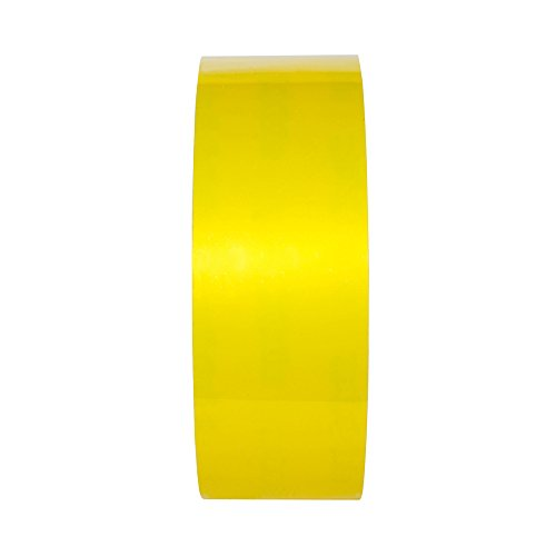 Superior Mark Floor - TuffMark Superior Adhesive Floor Marking Tape,Tear Resistant Floor Tape,Floor Safe Marking Tape for Warehouse Workplace Surfaces - Yellow - 2-Inch x 100-Foot (1 Roll)