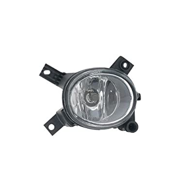 OE Replacement Audi A3/A4/S4 Passenger Side Fog Light Assembly (Partslink Number AU2593112): Automotive