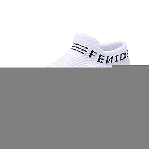 Kids LED Light Up Shoes Boy Girl Soft Knit Breathable Sock Soles Casual Flashing Slip-On Sneakers as Gift White