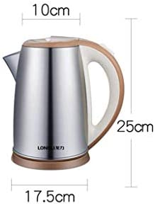 HLJ Ketels Elektrische 1.8L 1850W RVS waterkoker met instelbare temperatuur, Fast Water koken Kettle Automatische uitschakeling