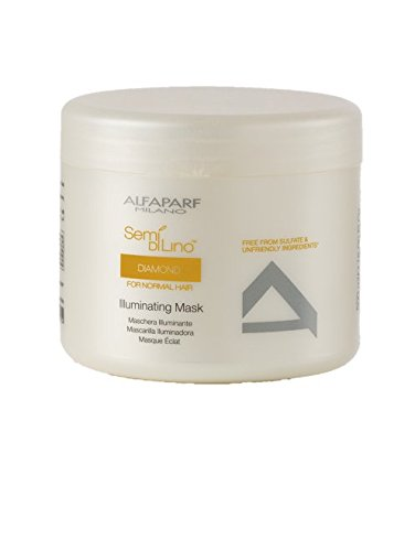 Alfaparf Semi Di Lino Diamante - ALFAPARF Semi di Lino Diamante Illuminating Mask, 17.4 Oz 492.5 g