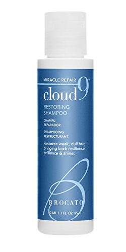 (Brocato Cloud 9 Restoring Shampoo by Beautopia Hair: Miracle Repair Moisturizing & Revitalizing Shampoo - 3 oz)