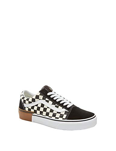 Old Gum Shoes Vans Skate Block Classic Skool Checkerboard Unisex 74fq4wA5