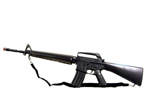 AirSoft BBTac BT M16 A2 Gun Vietnam WWII Version Spring Powered Rifle