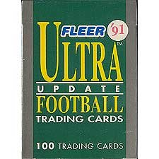 1991 Fleer Ultra Football Update Series Factory Sealed Set. It Contains Brett Favre and Ed Mccaffrey's Rookie Cards Plus Others. Great Set, Hard to Find!