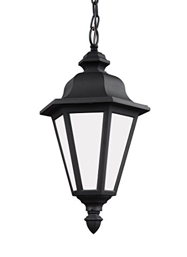 Sea Gull 69025-12 Brentwood Outdoor Pendant, 1-Light 100 Watts, (12 Brentwood 1 Light)
