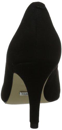 Buffalo London 113-2879-1 - Cerrado de cuero para mujer Negro (Black 01)