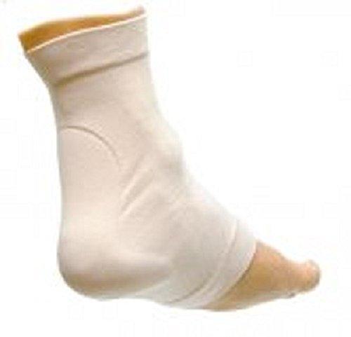 Achilles Heel Protection Elastic Gel Sock (Pair) - Medium, from Atlas Biomechanics, for Haglund