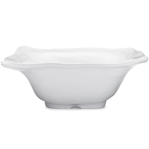 Q Squared NYC Square Ruffle Serving Bowl
