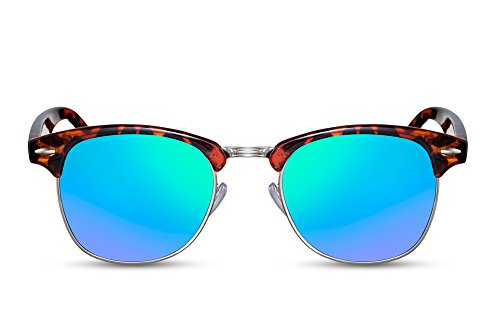 Clubmaster Hommes Rétro Femmes Miroitant Sunglasses Noir 011 Ca Cheapass q5Ow4gx