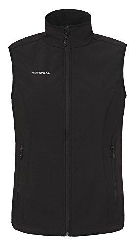 ICEPEAK Damen Softshell Vest Simone, Black, 34, 455953682I