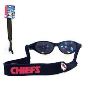 Kansas City Chiefs Croakies Strap for Sunglasses ()