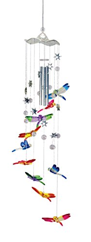 Spoontiques 10675 Dragonfly Wind Chime - Dragonfly Chimes