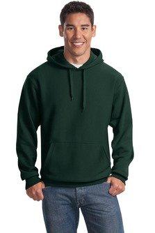 Sport-Tek Men's Super Heavyweight Pullover Hooded Sweatshirt L Dark Green from Sport-Tek
