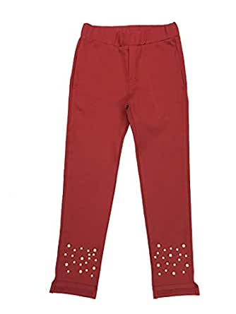 Le Crystal Girls Pant, Red