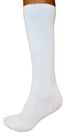 (Replacement Sock Liner for Orthopedic Walking Boots | Medical Tube Socks to wear under Air Cam Walkers and Fracture Boot Casts to Reduce Skin Irritation (High Top Length) )