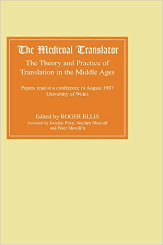 Middle English Translator >> Buy The Medieval Translator The Theory And Practice Of Translation