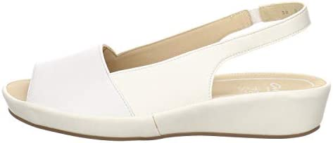 Ara Damen Sandalen Daytona Sandale Leder Weiss