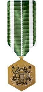 Medals of America Coast Guard Commendation Medal Miniature Bronze
