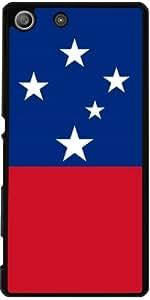 Funda para Sony Xperia M5 - Bandera De Samoa, Auténtico by BruceStanfieldArtist