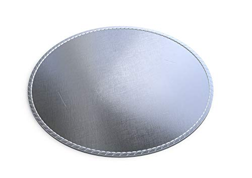 """KoolPad Fire Pit Pad & Grill Mat - 24 INCH - Protect Your Deck, Patio or Lawn from Expensive Damage from Heat, Fire Spillover, or Grease Drips from a Permanent or Portable Fire Pit or Grill (24"""")"""