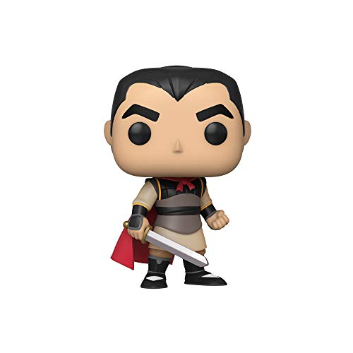 Funko- Pop Disney Mulan-Li Shang Collectible Toy, Multicolor (45329)