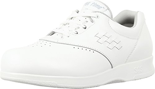 - SAS Women's, Freetime Lace up Sneaker (7.5 C/D US, White)
