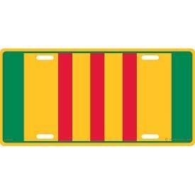 Vietnam Ribbon License Plate