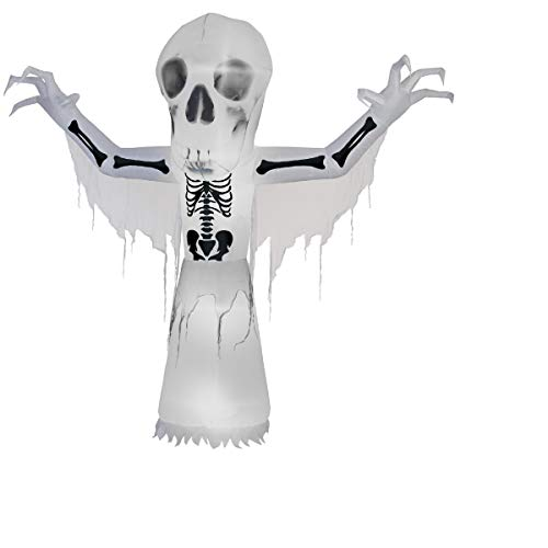 CC Christmas Decor 10' Thunder Bare Bones Halloween Decoration -