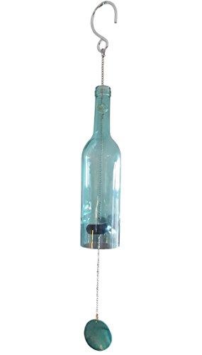 Brooklyn Basix Botella Wind Chime (Sea Glass)
