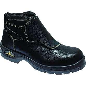 Deltaplus - Chaussure De Sécurité Haute Pour Soudeuse, 46, Noir, 1