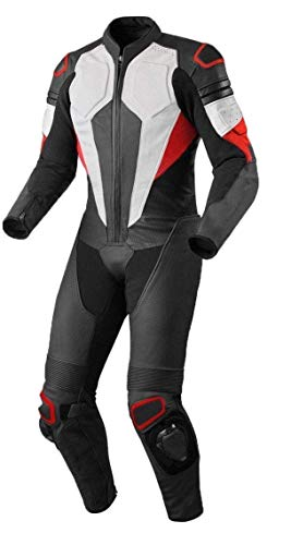 Motorcycle New One piece Track Racing Suit CE Approved Protection (4XL) ()