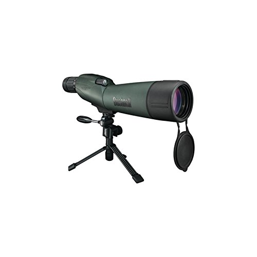 Bushnell Trophy XLT 20-60x 65mm Waterproof Compact Tripod Spotting Scope with Hard and Soft Cases