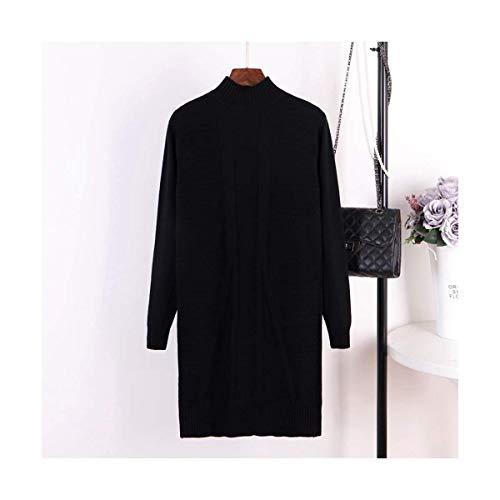 Maglia Size Con In Donna Girocollo Xinsu Manica color Barchetta Scollo Black Lunga A Home Top Khaki Perlato One Size nXfZfqPF
