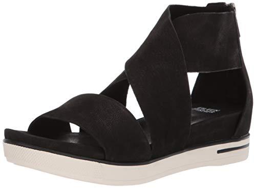 Sports Platform - Eileen Fisher Women's Sport Sandal, Black, 6.5 B US