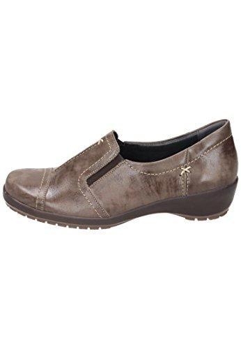 Comfortabele Dames Pantoffel Bruin 942136-2 Bruin