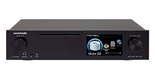 Price comparison product image Cocktail Audio X40 Black DSD HD Hi-Res Music Server / CD Ripper / 32bit DAC / Streamer