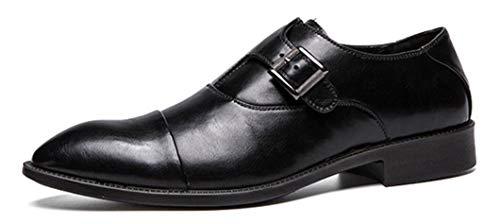 Inglaterra Punta 2019 En Nuevos Boda Zapatos Hombres Hebilla Casual De Los Traje 40 Black Vestido Xie 46 Negocios Black Banquete Aw8dxqPq