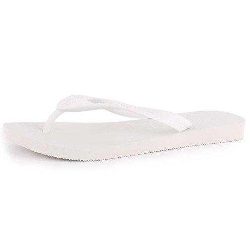 Havaianas Sandalias Top blanco - blanco