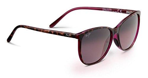 Maui Jim Womens Ocean Sunglasses (723) Tortoise/Pink Plastic,Nylon - Polarized - - Uv Jim Protection Maui
