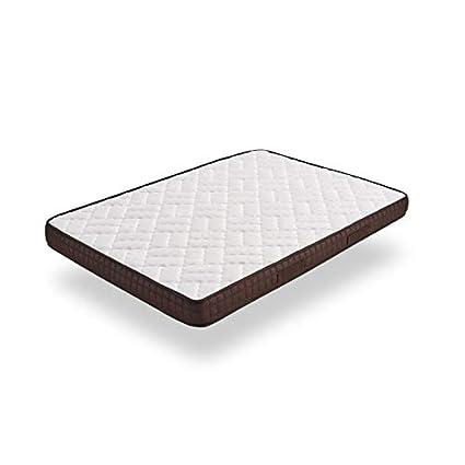 HOGAR24 ES Colchón de Espumación Visco-Brown con Doble Capa Viscosoft, 80x180cm