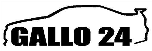 (GALLO 24 R34 GTR Decal- {Black} 5