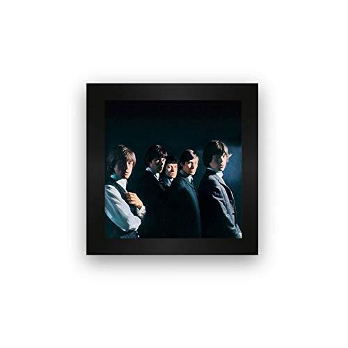 Quadro azulejo moldura Rolling Stones